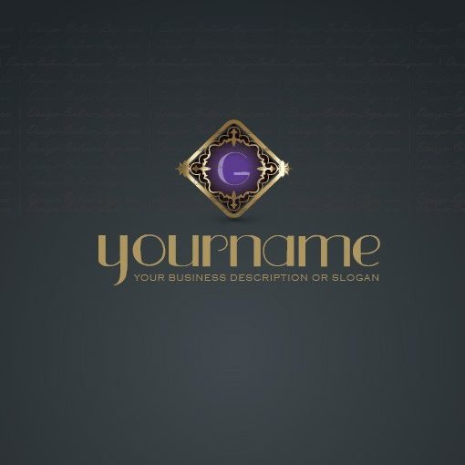 Golden Alphabet Logo Design