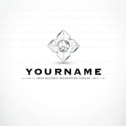 Online Diamonds logo design
