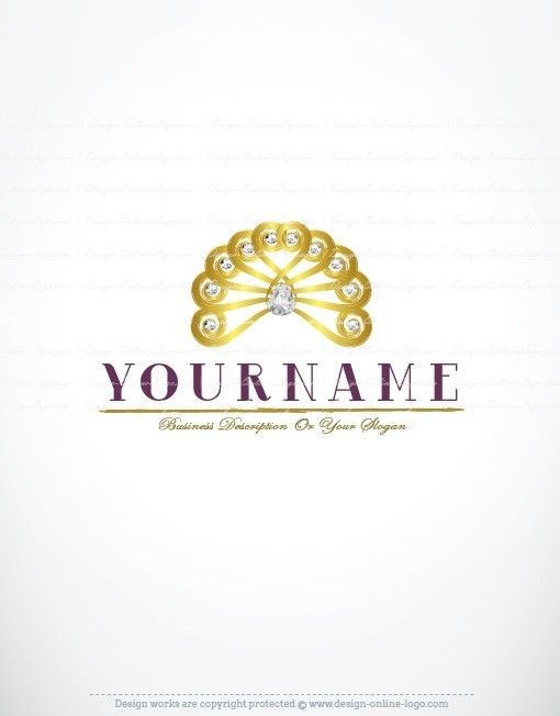Excellent Exclusive Design: Diamond Hair Logo + Compatible FREE Business  IF37