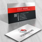 3D Lock Logo FREE Business Card