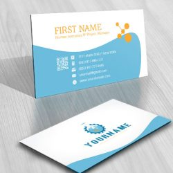 Industrial Science Logo design biz card