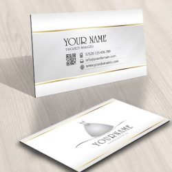 brides Salon logo design biz card