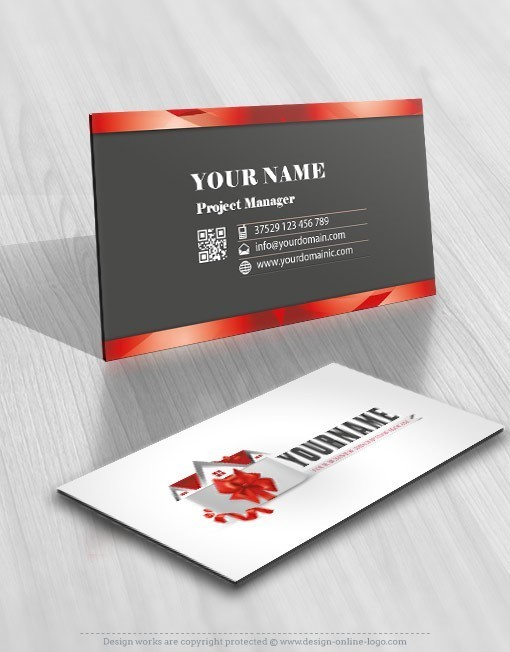 Gift House Logo for sale biz card design
