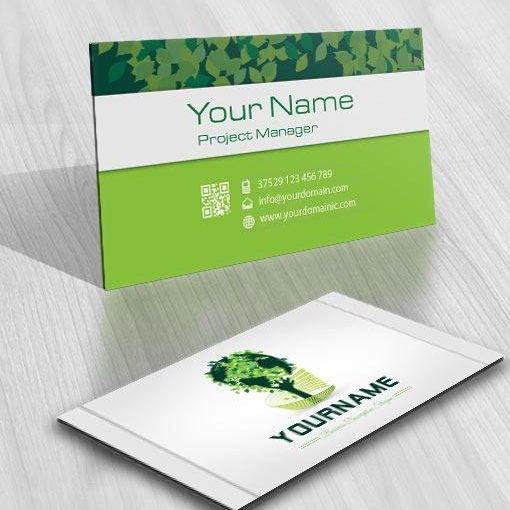 3132-green-eco-tree-logo-free-business-card-design