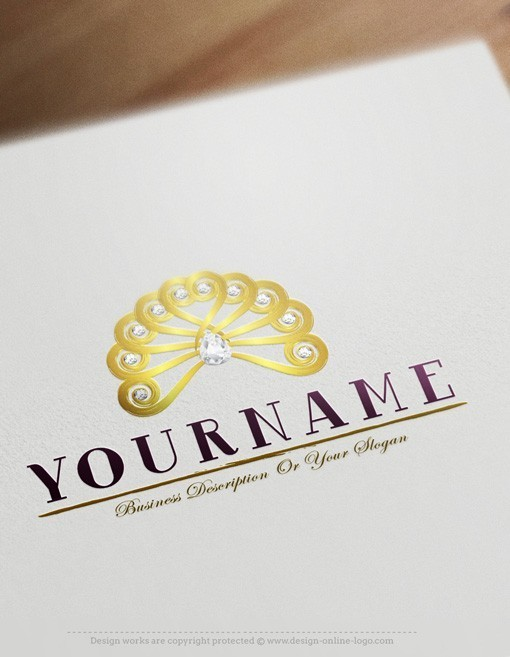 exclusive design diamond hair logo compatible free business card