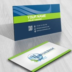Eco Water Logo biz card
