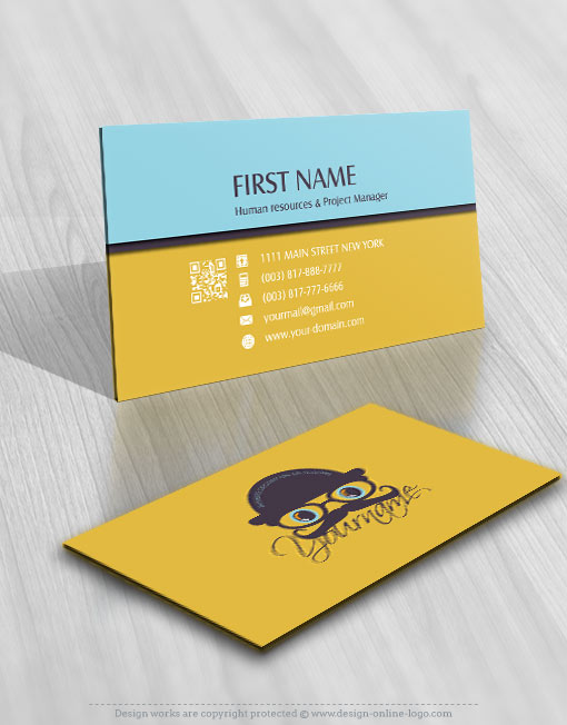 Exclusive design vintage man logo compatible free business card vintage man logo reheart Image collections