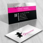 Magic Fairy Logo BIZ CARD