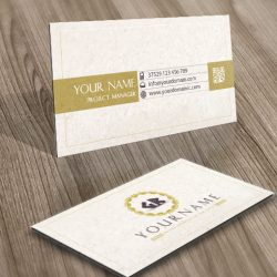 alphabets Greek Logo card design