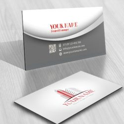 Realty Logo card Design