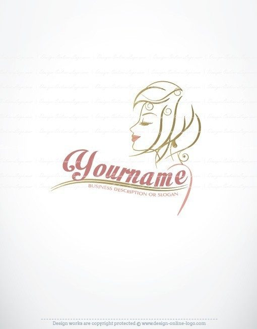 Woman Face Logo