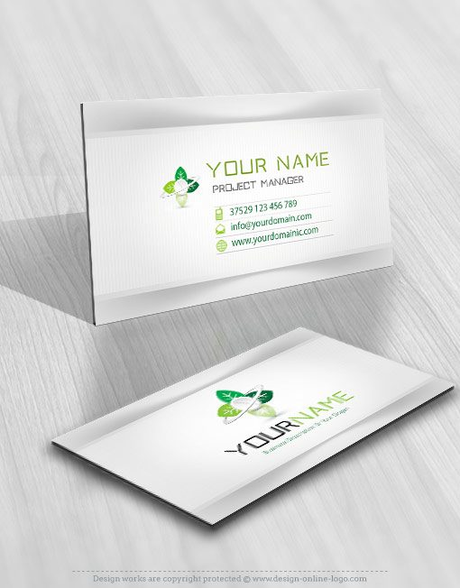 Medicine Pharm logo card design