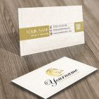 buy Golden Horse card Logo design