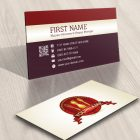 Restaurant Coffee Shop Logo card design