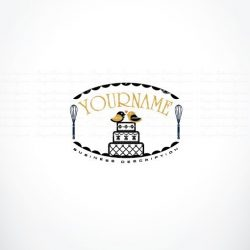 Wedding Cake Logo for sale online