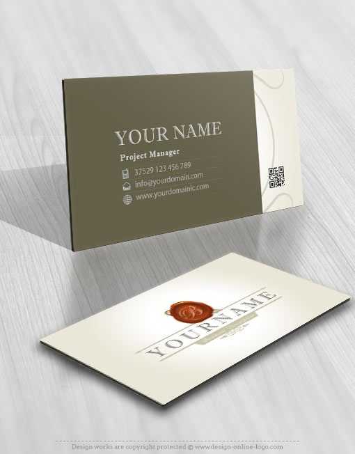 LAW-FIRM-logo-business-card-design