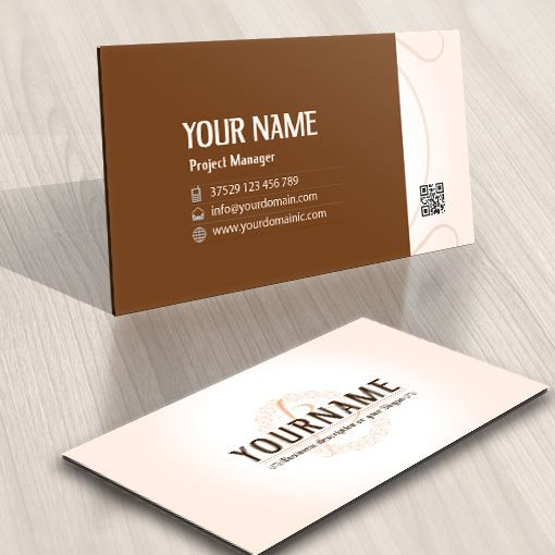 Online ready made Initials logo card design