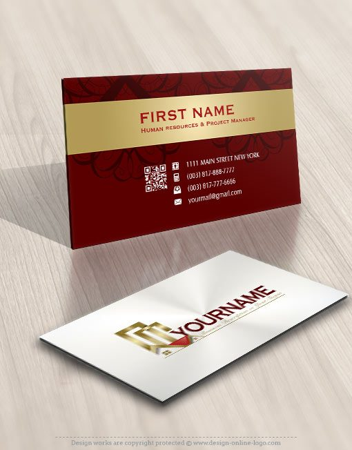 Real Estate Logos card design