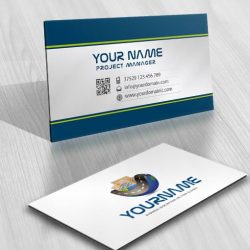 Cargo Delivery Logo card design online
