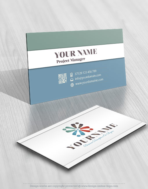 Group People logo card design