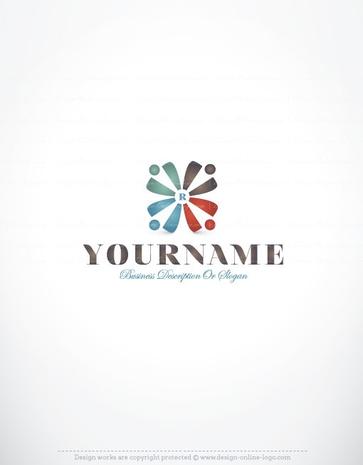 Group People logo design