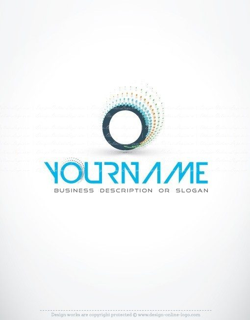 Abstract initial Logo design template