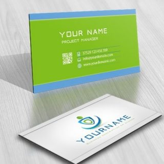 HuMan ready made Logo card design online