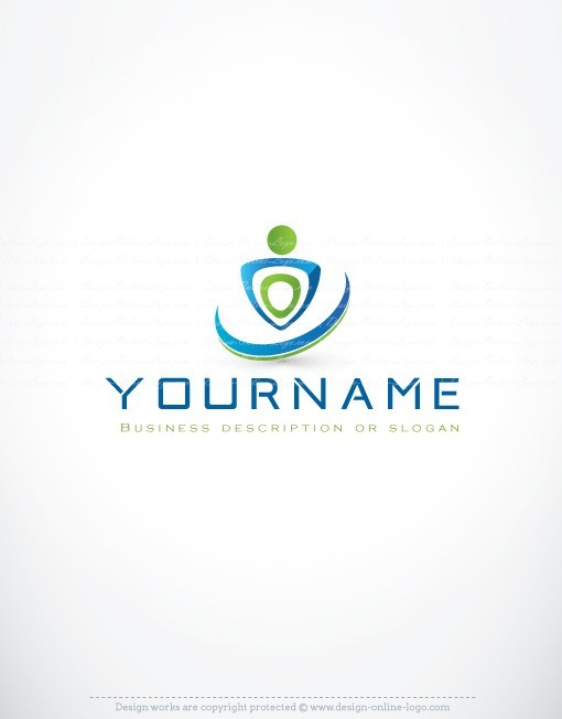 Exclusive design human logo compatible free business for Custom design online