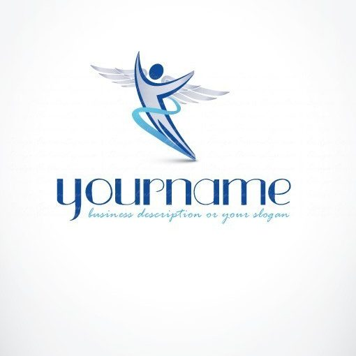 Flying Man Logo design