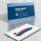 sports Juming Logo design card