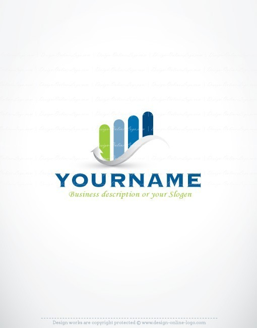 exclusive design finance accountant logo free business card