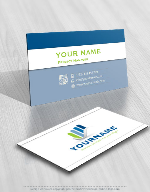 Finance Accountant logo template free card