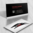 Ready made Eagle logo design free card template