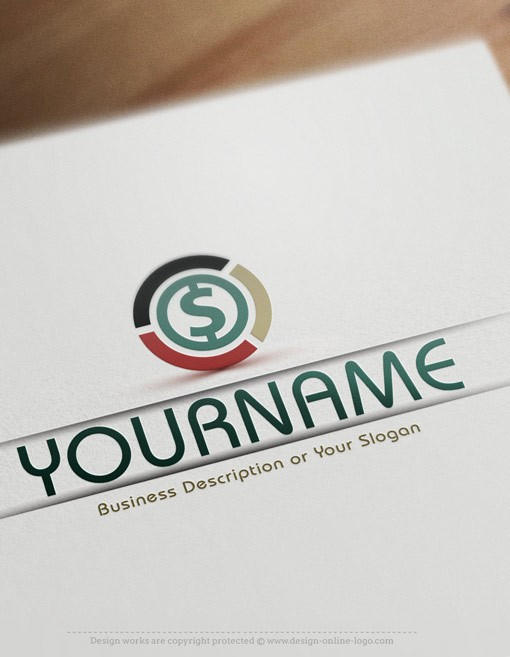 Finance Money $ logo templates