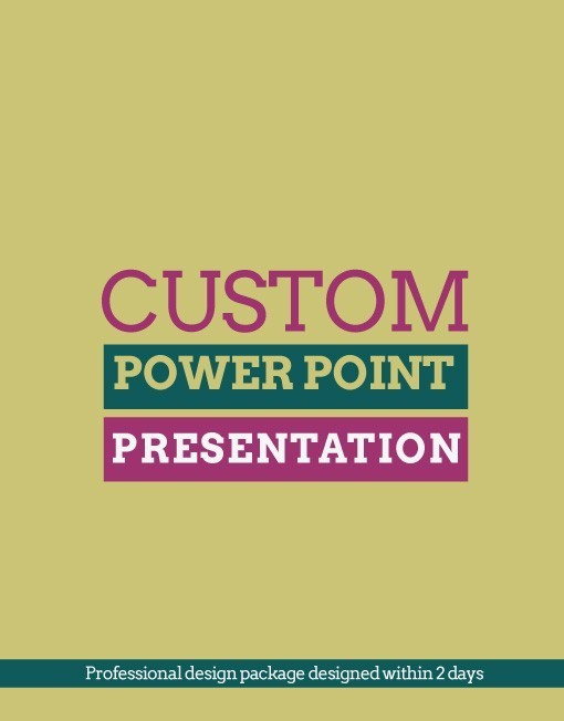 how to create a custom slide show poweropoint