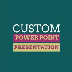 Custom 3D PPT Presentation Design