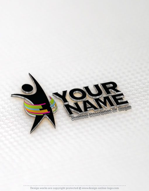 people logo free business card design