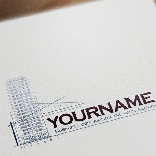 Architect Real Estate Logo design template