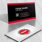 Security Chain Logo FREE Business Card