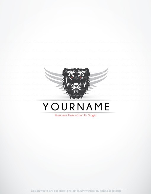Buy Lion Logo online FREE Business Card