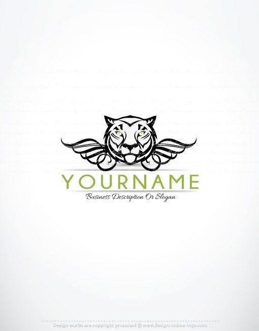 Exclusive Design online Tiger logo for sale