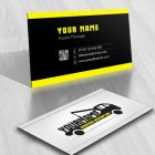 Exclusive Design: buy towing truck Logo + FREE Business Card