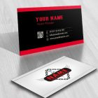 Exclusive Design: crane towing Logo template + FREE Business Card