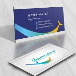 Ready made Dentist logo free card design