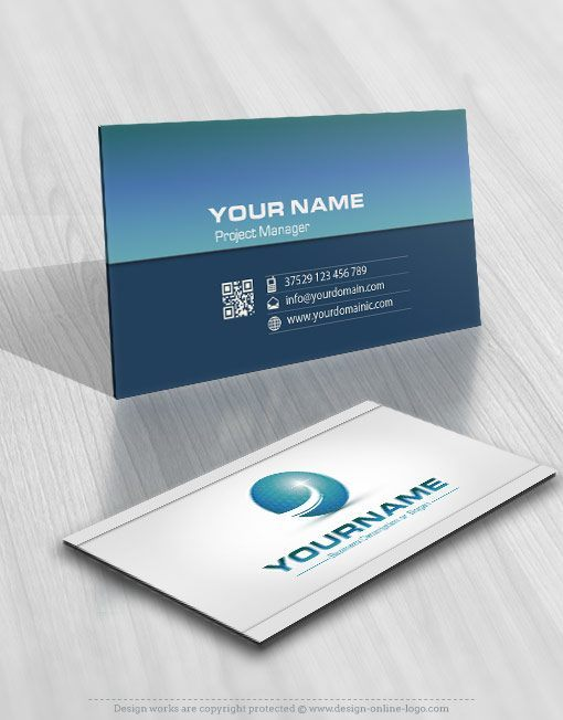 Buy Path Logo online FREE Business Card