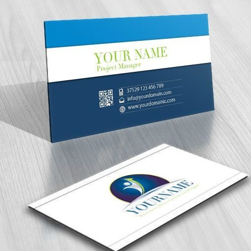 Buy Finance Human logo + FREE Business Card