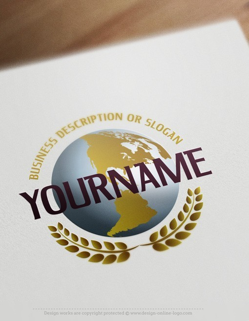 Globe Logo template FREE Business Card