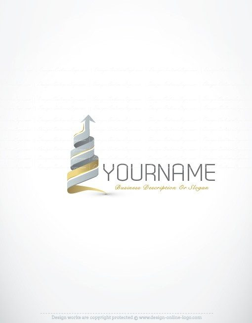 Finance Realty logo template