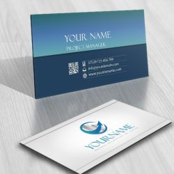Real Estate online Logo + FREE Business Card