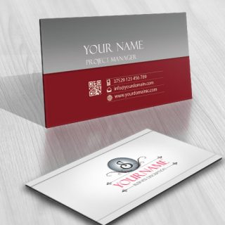 Online Initial Logo free card design